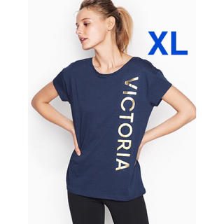 ヴィクトリアズシークレット(Victoria's Secret)のヴィクトリアシークレットスポーツ Tシャツ XL【新品】【即日発送】(Tシャツ(半袖/袖なし))