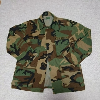 ウィゴー(WEGO)のWEGO 迷彩柄 ビッグシャツ 長袖  US ARMY  レディース コスプレ(ミリタリージャケット)