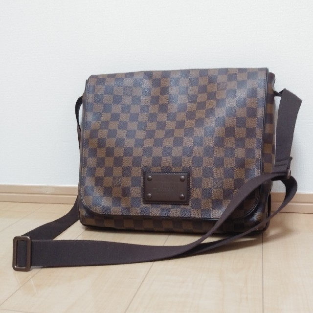 LOUIS VUITTON - ルイヴィトン ダミエ ブルックリン ショルダーバッグ ヴィトン バッグの通販 by miyu's shop|ルイヴィトンならラクマ
