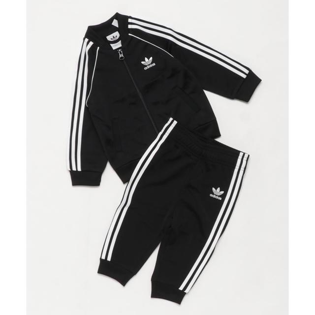 adidas(アディダス)のアディダスオリジナルズ ジャージ セットアップ キッズ/ベビー/マタニティのキッズ服 男の子用(90cm~)(パンツ/スパッツ)の商品写真