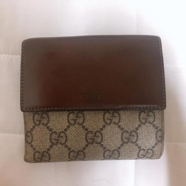 Gucci - GUCCI 二つ折り財布の通販 by まなみ's shop|グッチならラクマ