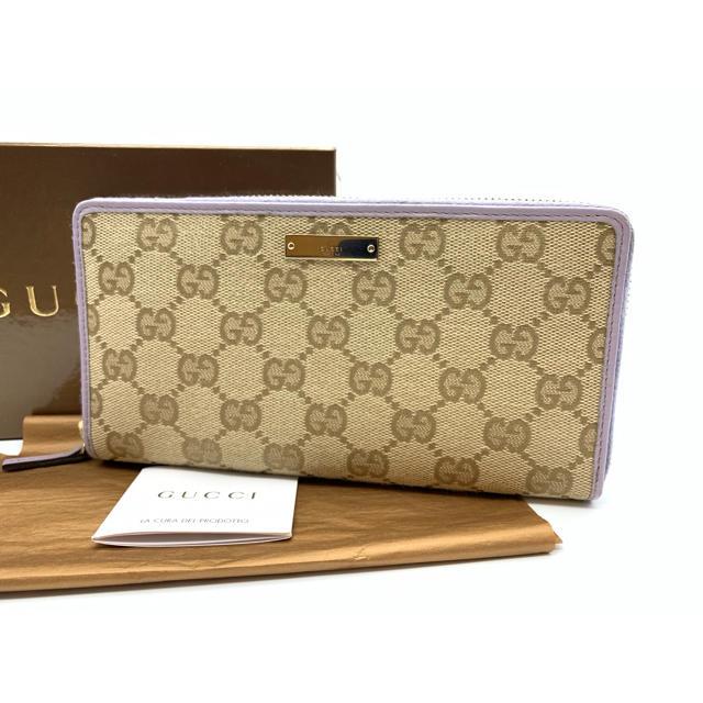 Gucci - ⭐️良品⭐️ GUCCI グッチ GGキャンバス ジッピー ウォレット 長財布の通販 by ENN's shop|グッチならラクマ