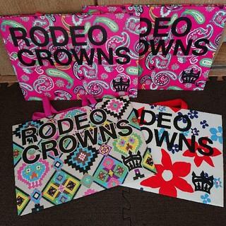 ロデオクラウンズワイドボウル(RODEO CROWNS WIDE BOWL)のrodeocrowns ショッパー (ショップ袋)