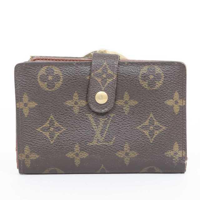 LOUIS VUITTON - 交渉歓迎 本物 ルイ ヴィトン モノグラム がま口二つ折り財布の通販 by ご希望教えてください's shop|ルイヴィトンならラクマ
