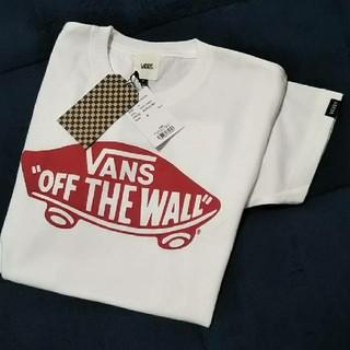 ヴァンズ(VANS)の★新品★今季★ VANSTシャツ/ホワイト/S(Tシャツ(半袖/袖なし))