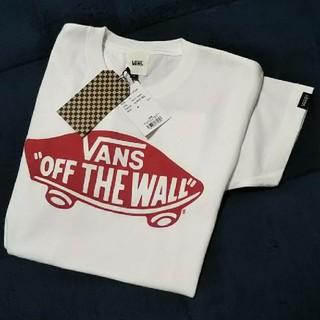 ヴァンズ(VANS)の■新品■今季■ VANSTシャツ/ホワイト/S(Tシャツ(半袖/袖なし))