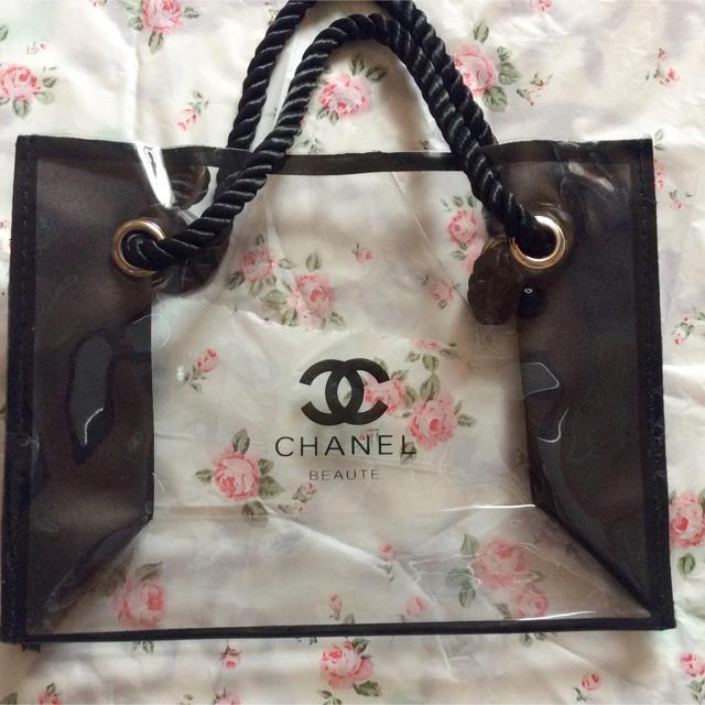 腕時計 三角 | CHANEL - シャネル クリアバッグ トートバッグ ノベルティの通販 by ゆーか's shop|シャネルならラクマ