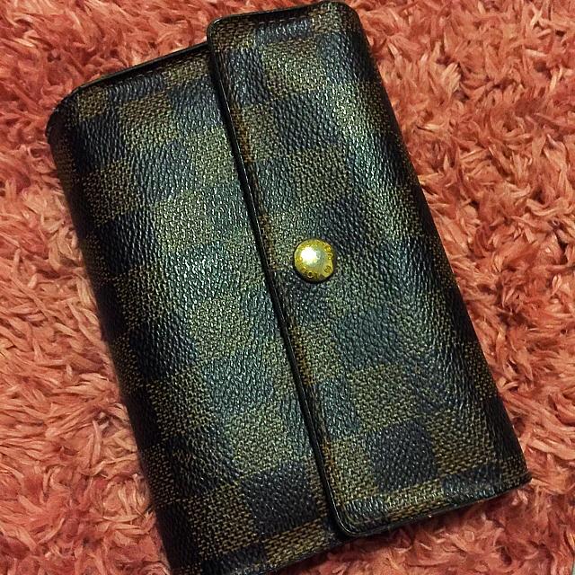 ディオールハンドバッグコピー 通販サイト - LOUIS VUITTON - ルイ・ヴィトン ダミエ  3つ折り 財布 折り財布の通販 by 英里's shop|ルイヴィトンならラクマ