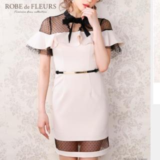 ROBE de FLEURS ドレス(ミニドレス)