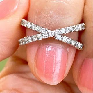 美品❗️0.50ct 上質 プラチナダイヤリング プラチナリング(リング(指輪))