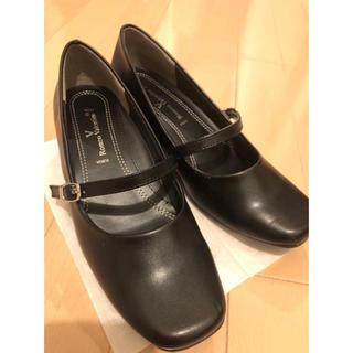 黒 パンプス(ドレス/ビジネス)