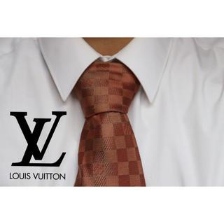 ルイヴィトン(LOUIS VUITTON)のLOUIS VUITTON /ルイヴィトン ダミエネクタイ used品(ネクタイ)