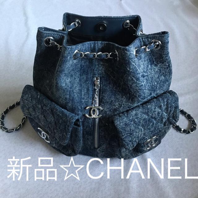 CHANEL - 新品☆シャネル ノベルティ リュックの通販 by Gracious's shop|シャネルならラクマ