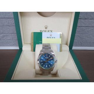 ロレックス(ROLEX)のROLEX 116400GV Zブルー 国内正規品 ベルト未調整 新品 未使用品(腕時計(アナログ))