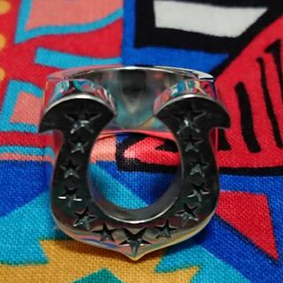 テンダーロイン(TENDERLOIN)の超美品 テンダーロイン ホースシューリング 13号(リング(指輪))