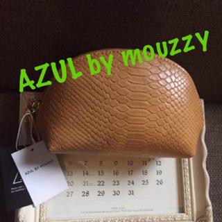 アズールバイマウジー(AZUL by moussy)のアズールバイマウジー パイソン柄 ポーチ(ポーチ)