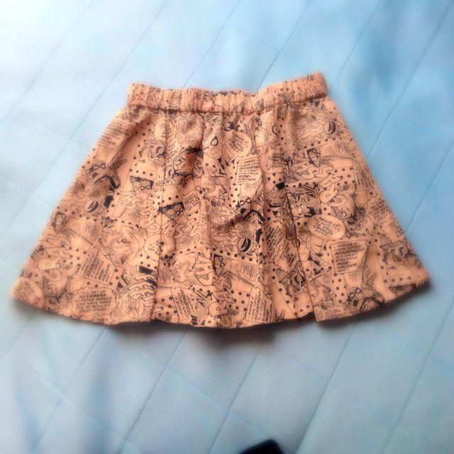しまむら(シマムラ)のアメコミ柄スカート レディースのスカート(ミニスカート)の商品写真