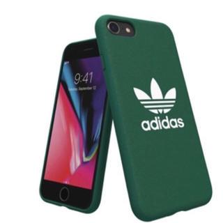 アディダス(adidas)の新品 アディダスオリジナルス iPhoneケース adidasモールドケース 緑(iPhoneケース)