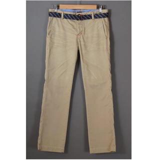 ダブルスタンダードクロージング(DOUBLE STANDARD CLOTHING)のダブスタ 赤ステッチ ベルト付 パンツ(カジュアルパンツ)