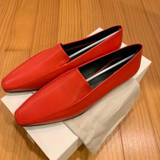 エディットフォールル(EDIT.FOR LULU)のTHE ROW Minimal leather loafer ザロウ(ローファー/革靴)