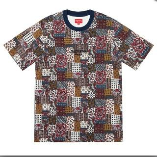 シュプリーム(Supreme)のsupreme Patchwork Paisley S/S Top  Sサイズ(Tシャツ/カットソー(半袖/袖なし))