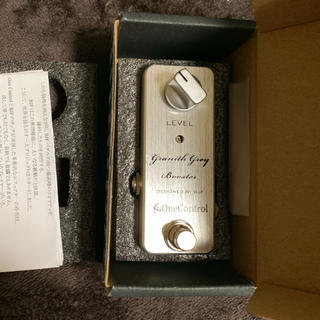 ONE CONTROL Granith Grey Booster(エフェクター)