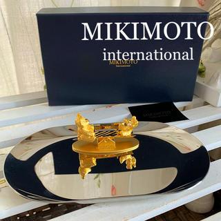 ミキモト(MIKIMOTO)のミキモトインターナショナル⚜️ seesaw bear ⚜️ジュエリートレー(小物入れ)