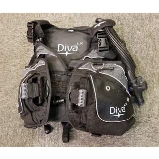 アクアラング(Aqua Lung)のシークエスト ディーバ BCD アクアラング ダイビング機材(マリン/スイミング)