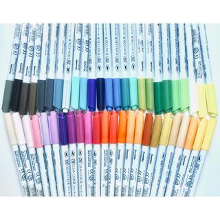 クレタケ ZIG クリーンカラー リアルブラッシュ(カラー水彩ペン) 49色