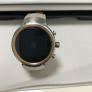 ASUS ZENWATCH3 シルバー/ベージュ おまけ付き(腕時計(デジタル))