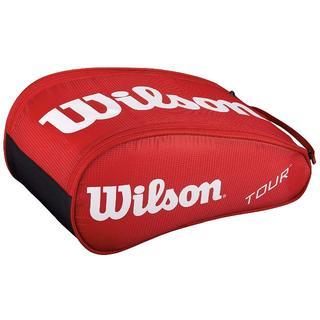 ウィルソン(wilson)のウィルソン ツアーシューズバッグ II レッド(バッグ)