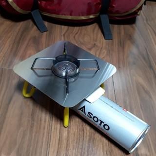 シンフジパートナー(新富士バーナー)のSOTO ST-310専用 遮熱板 オリジナル(ストーブ/コンロ)