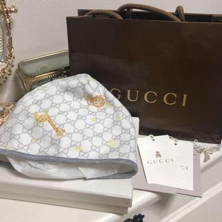 グッチ(Gucci)の★FRママ様専用★GUCCI ベビー帽子(帽子)