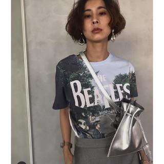 アメリヴィンテージ(Ameri VINTAGE)のアメリヴィンテージ ビートルズTシャツ(Tシャツ(半袖/袖なし))