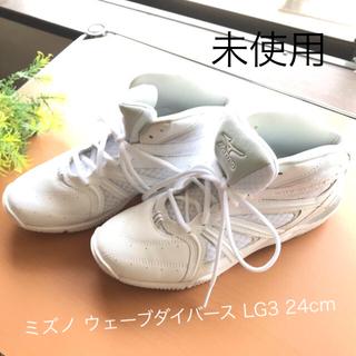 MIZUNO - ミズノ フィットネスシューズ ウエーブダイバース LG3