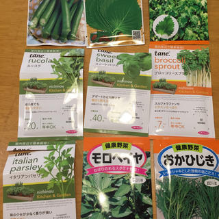 ハーブの種 野菜の種 よりどり6種類 家庭菜園 ガーデニング向け(野菜)