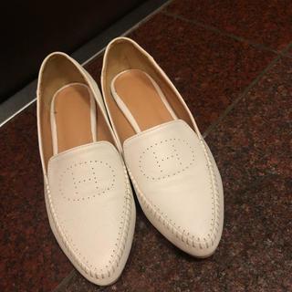 ザラ(ZARA)の値下げ‼️ フラットシューズ(ローファー/革靴)
