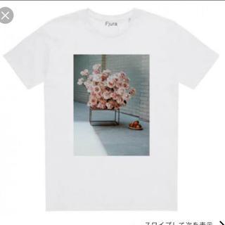 ドゥロワー(Drawer)のFjura フラワープリントTシャツ(Tシャツ(半袖/袖なし))