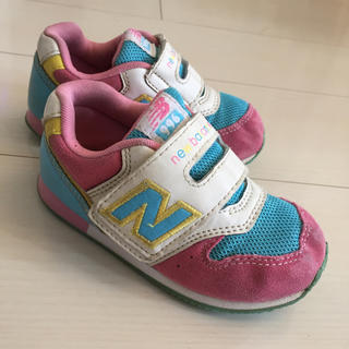 8c9ffb8fb3c29 ニューバランス(New Balance)のニューバランス 996 女の子用14.5センチ(スニーカー)