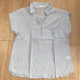 ジーユー(GU)の半袖ブラウス (シャツ/ブラウス(半袖/袖なし))