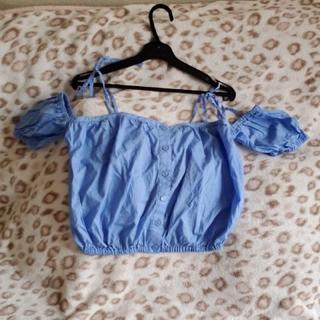 スライ(SLY)のSLY オフショル ローラー着用(Tシャツ(半袖/袖なし))