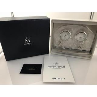 MIKIMOTO - MIKIMOTO ミキモト の温・湿度計