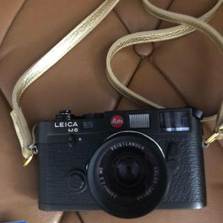 ライカ(LEICA)の美品 ライカM6 フィルムカメラ コダック フォクトレンダー(フィルムカメラ)
