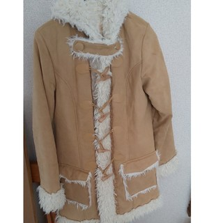 リズリサ(LIZ LISA)のLIZ LISA リズリサ 可愛い コート 洋服 長袖  上着 冬 モコモコ(パーカー)
