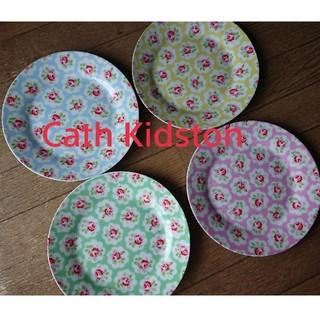キャスキッドソン(Cath Kidston)のcath kidston お皿 デザートプレート4枚(食器)