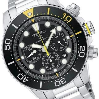 セイコー(SEIKO)の激レア 新品セイコー プロスペックス ソーラーダイバーズクロノグラフ 逆輸入(腕時計(アナログ))