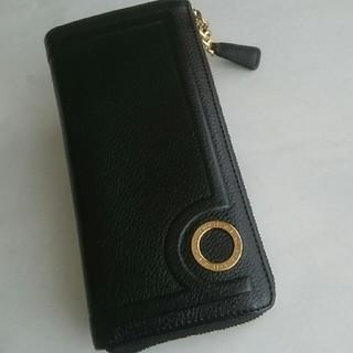 ブルガリ(BVLGARI)のBVLGARI片押しL字ファスナー長財布(財布)