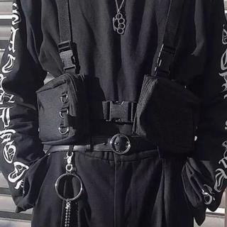 オフホワイト(OFF-WHITE)の【海外輸入品】 チェストバッグ   HGUL BAG(ボディーバッグ)