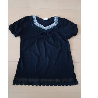 アクシーズファム(axes femme)のaxes★黒のTシャツsizeL(Tシャツ(半袖/袖なし))