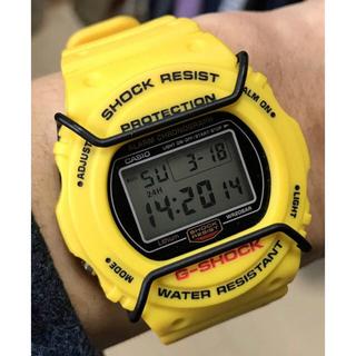 ジーショック(G-SHOCK)のG-SHOCK/イエロースティング/DW-5700/スクリューバック/復刻(腕時計(デジタル))